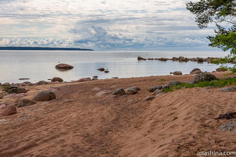 Бухта Желтая в Финском заливе