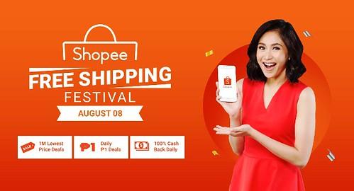 Shopee Free Shipping Festival 8.8
