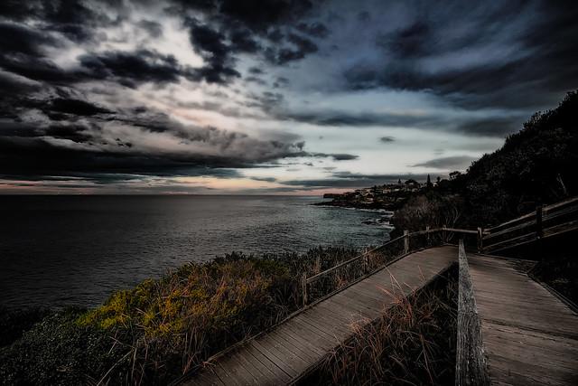 Evening Coast Walk South