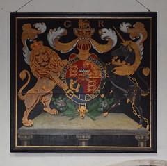 G R royal arms