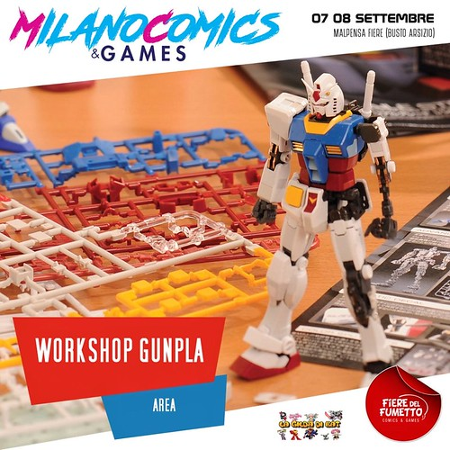 Milano Comics Workshop Gunpla