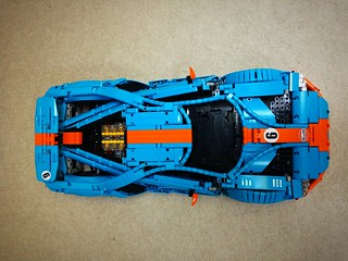 Ford GT - built in stunning colour combo blue orange livery!!