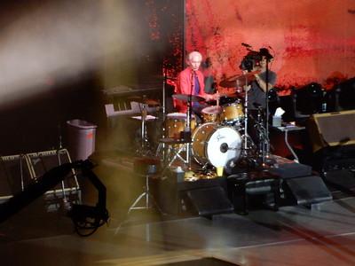Charlie Watts at MetLife Stadium, August 5, 2019