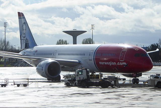 2019.03.17.11 ROISSY CdG - Boeing 787-9 Dreamliner (LN-LNK - cn.62082-450 - Victor Borge) Cie Norwegian Long Haul