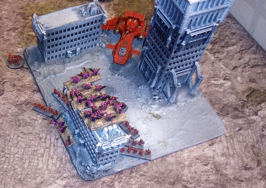 [06.08.19] Blood Angels vs Emperor's Children (3500 pts).  48471469951_b5281f9d34_b