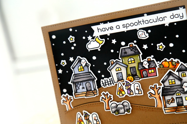 Spooky Village (Lawn Fawn inspiration week)