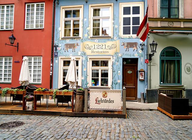 Blue in Riga