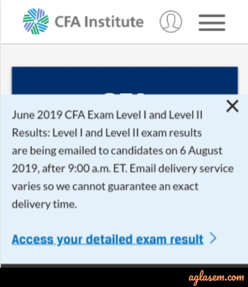 CFA Result 2019 (Announced) – Check Here for Level 3