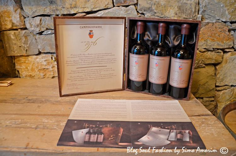 Vinhos maravilhosos no wine shop San Felice