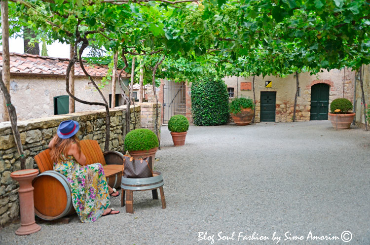 Um dos meus lugares preferidos no Borgo San Felice