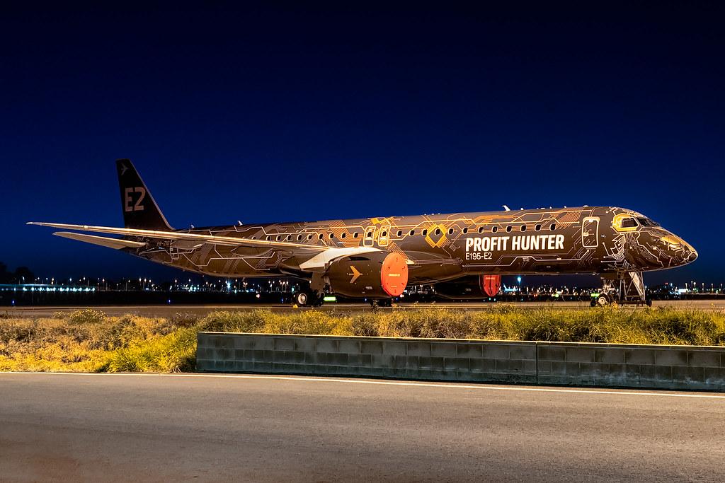 PR-ZIQ Embraer Embraer E195-E2 34L Sydney Airport SYD/YSSY 23/7/2019