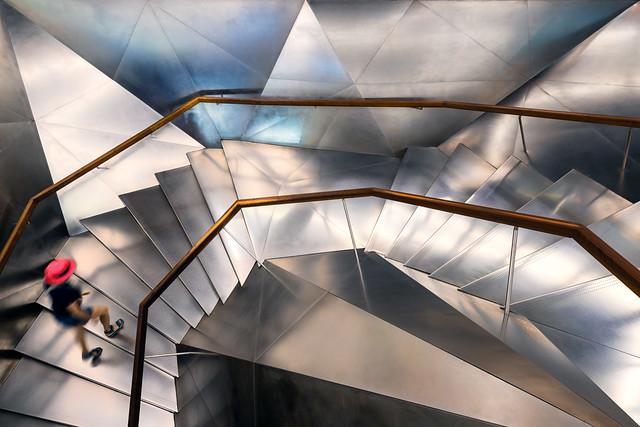 Escaleras CaixaForum