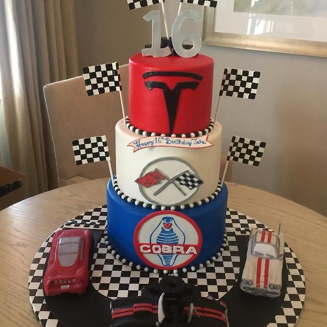 Cake by Sarasota Cakes