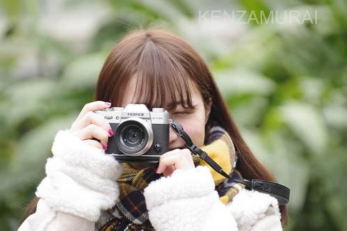 Japanese a Girl & FUJIFILM X-T20 XF35mmF2.0
