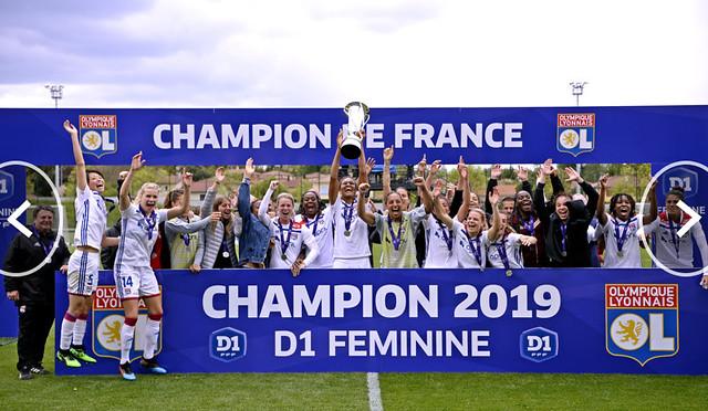 D1 Féminine 2018-2019