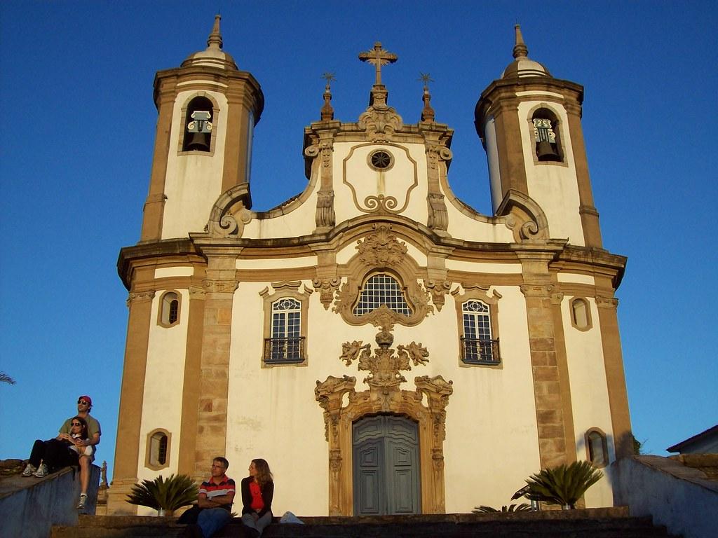 Igreja de Nossa Senhora do Carmo - Ouro Preto (MG)