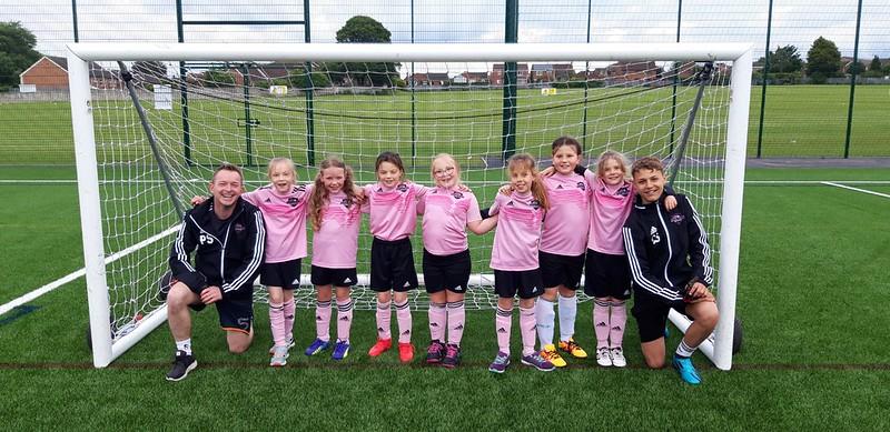 Barton Juniors FC Under 10 Girls