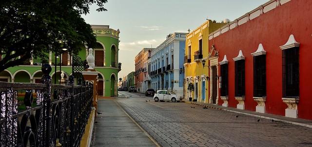 MEXICO, frühmorgens in Campeche,  19173/11838