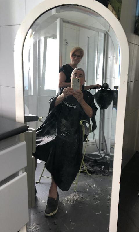 Cutting Hair with Heidi