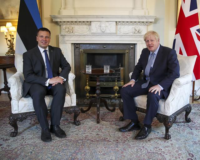 PM Ratas meeting with the UK PM Boris Johnson in London