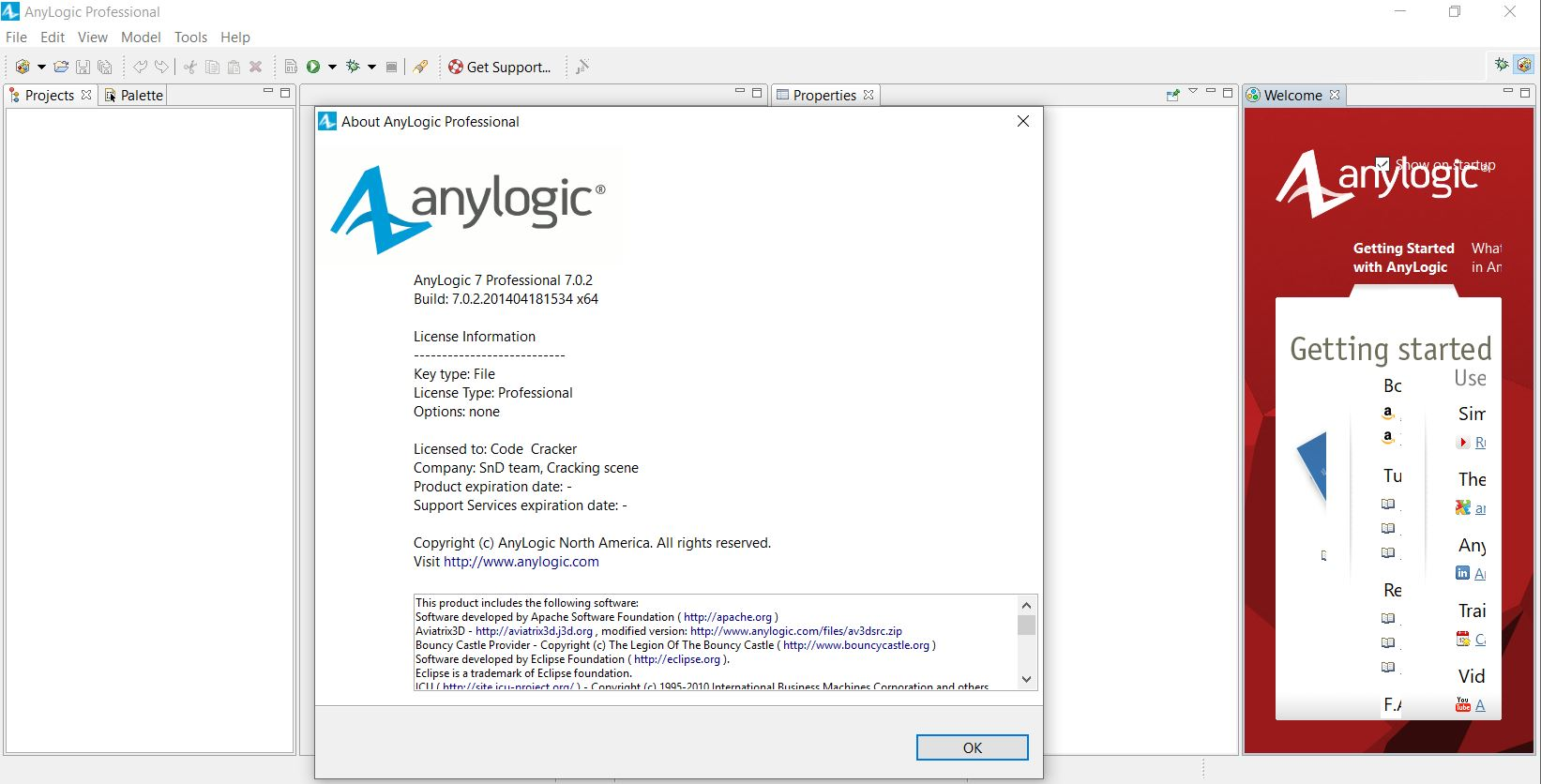 Working with AnyLogic Professional 7.0.2 Multilingual x64 full license