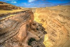 Cañón de los Perdidos. Ica. Erosión de 30 millones de años.
