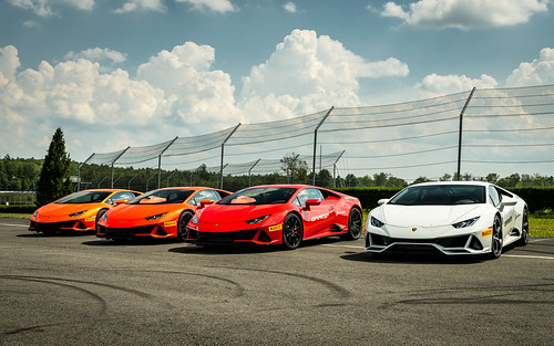 Lamborghini Esperienza at Monticello Motor Club