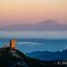 Roque Nublo with Teide