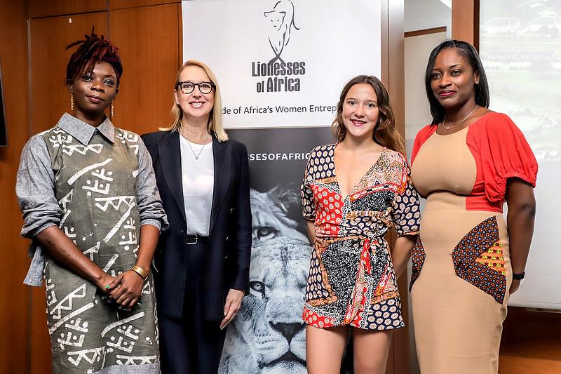 Lioness Lean In - Abidjan, Côte d'Ivoire, 26 July 2019