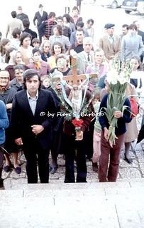 Materdomini di Caposele (AV), 1973, Festa di San Gerardo.