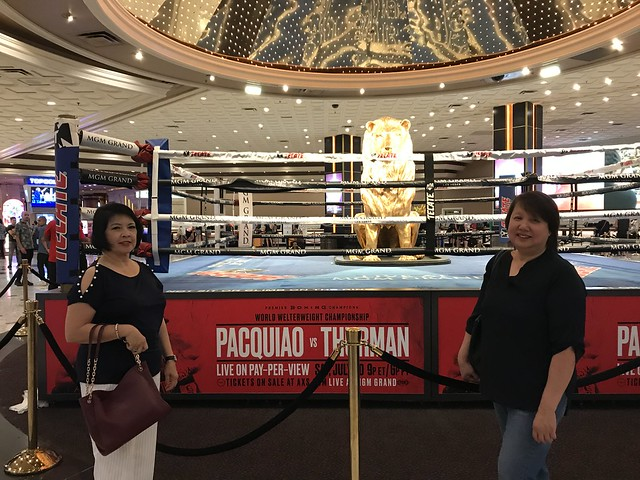 Pacquiao vs Thurman, boxing 1