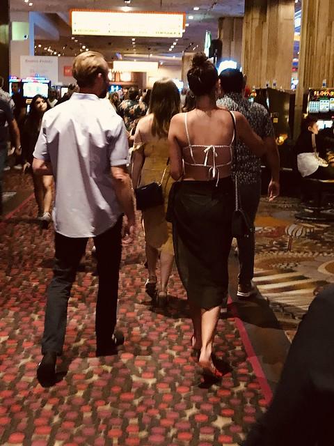 Sexy fashion in Vegas