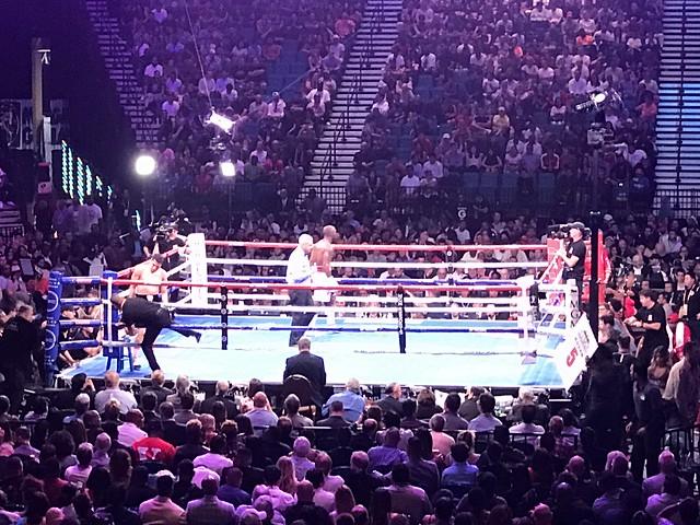 Boxing at MGM