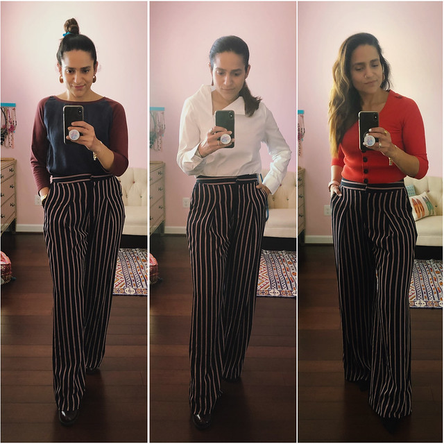 Three Ways Striped Pants