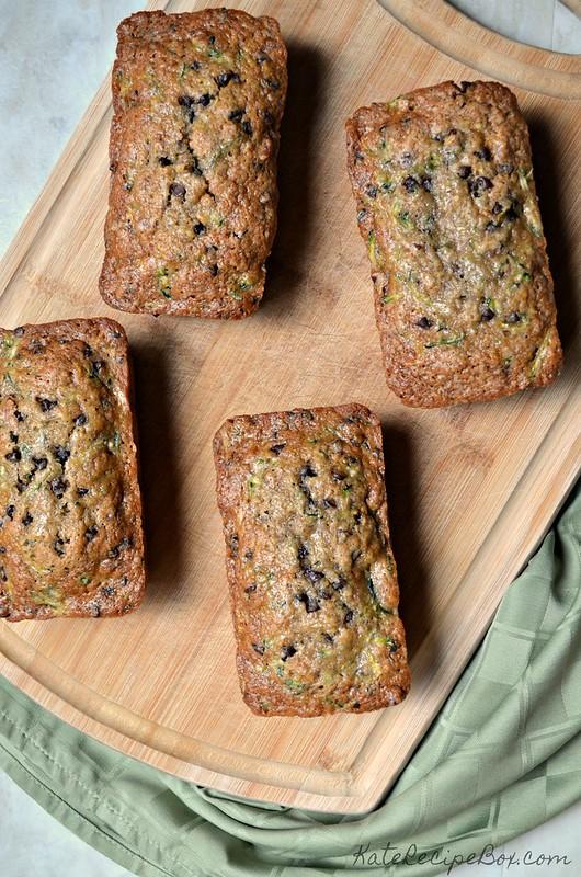 Chocolate Chip Pecan Zucchini Bread 2