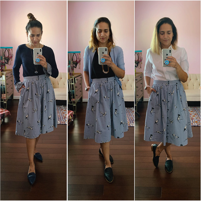 Three Ways Bird Skirt