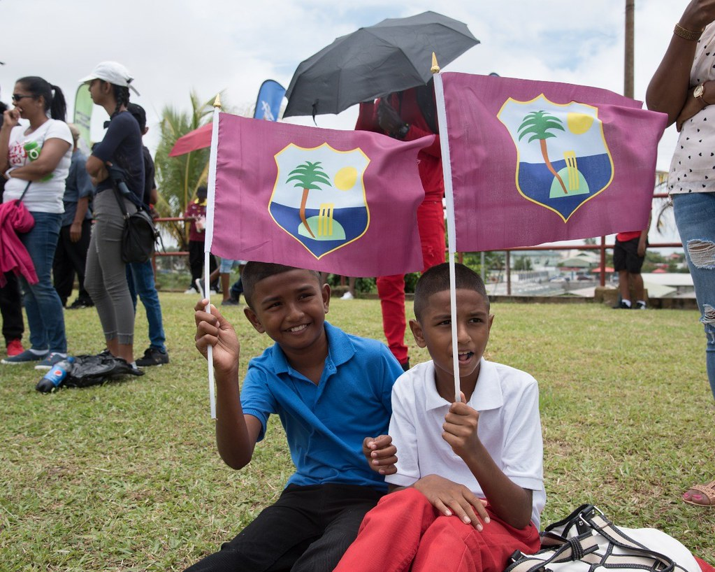Scenes from West Indies vs India 3rd T20 at Guyana Nationa
