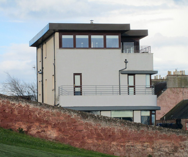 Rear view, Art Deco/Moderne House, Arbroath