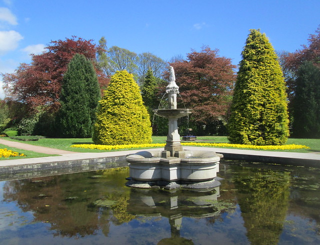 Fountain, Beveridge Park, Kirkcaldy