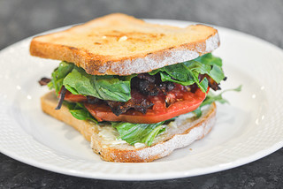 Grilled BLTs