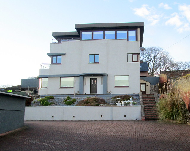 Art Deco/Moderne House, Arbroath