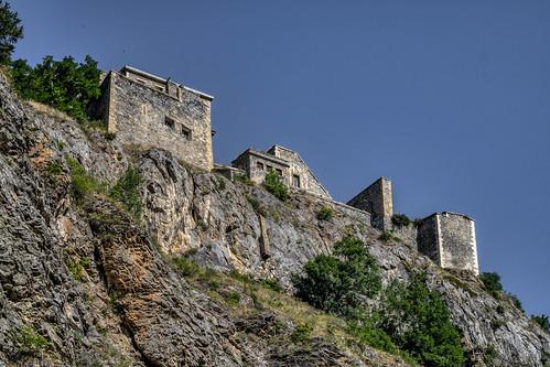 remparts cité alps briancon