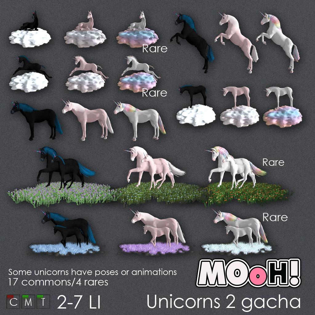 MOoH! Unicorns2 gacha - TeleportHub.com Live!