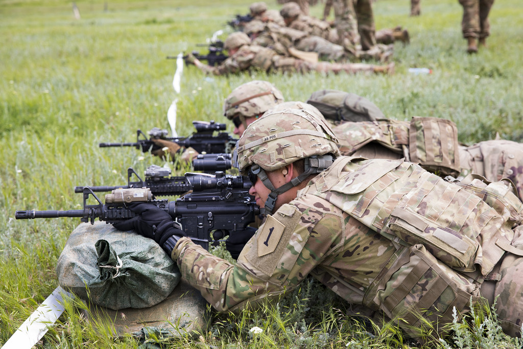 Ready Aim Fire Soldiers With The 1st Battalion 16