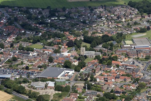 Stalham aerial image - Norfolk UK