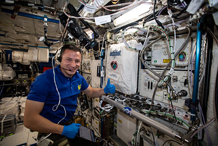 Expedition 60 Flight Engineer Andrew Morgan works with the BioFabrication Facility | by NASA Johnson