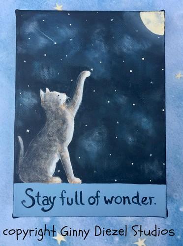 Stay full of wonder