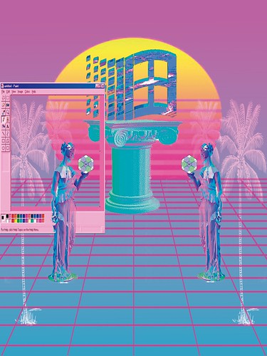 """Evolution"" and life in vaporwave flavours. 