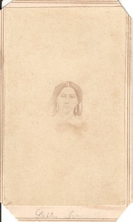 CDV_tiny, fading portrait of Sallie, Baltimore, Maryland