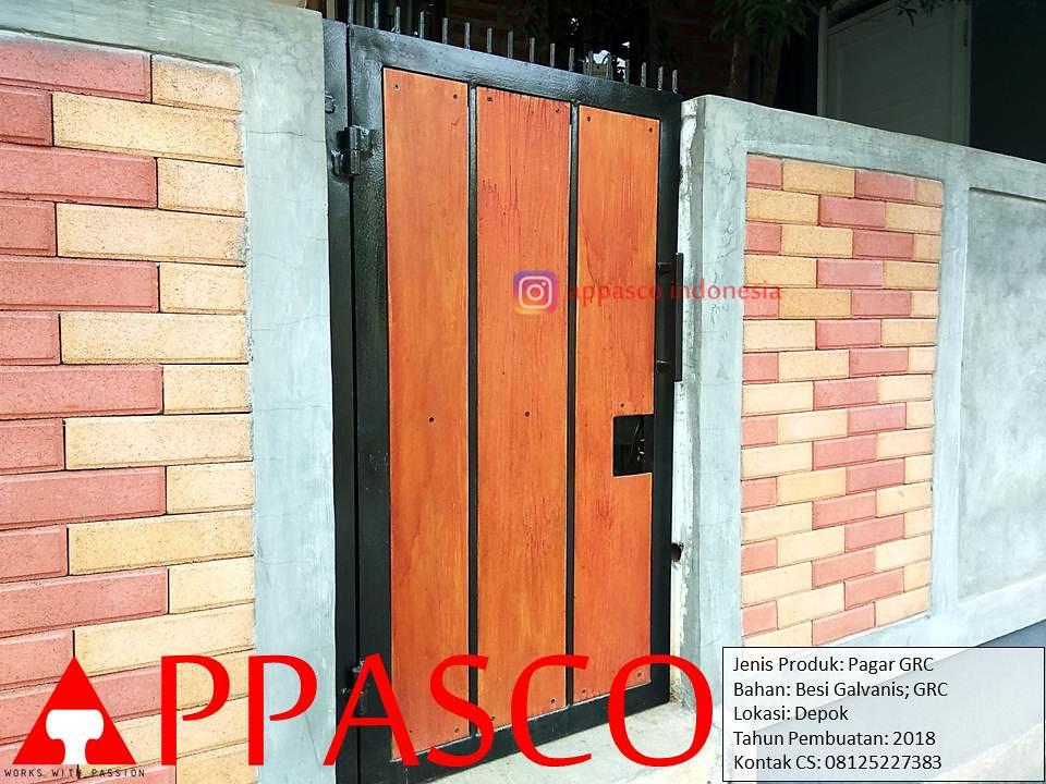 Pintu Gerbang Pagar Minimalis Dari Grc Lisplang Dan Besi G Flickr
